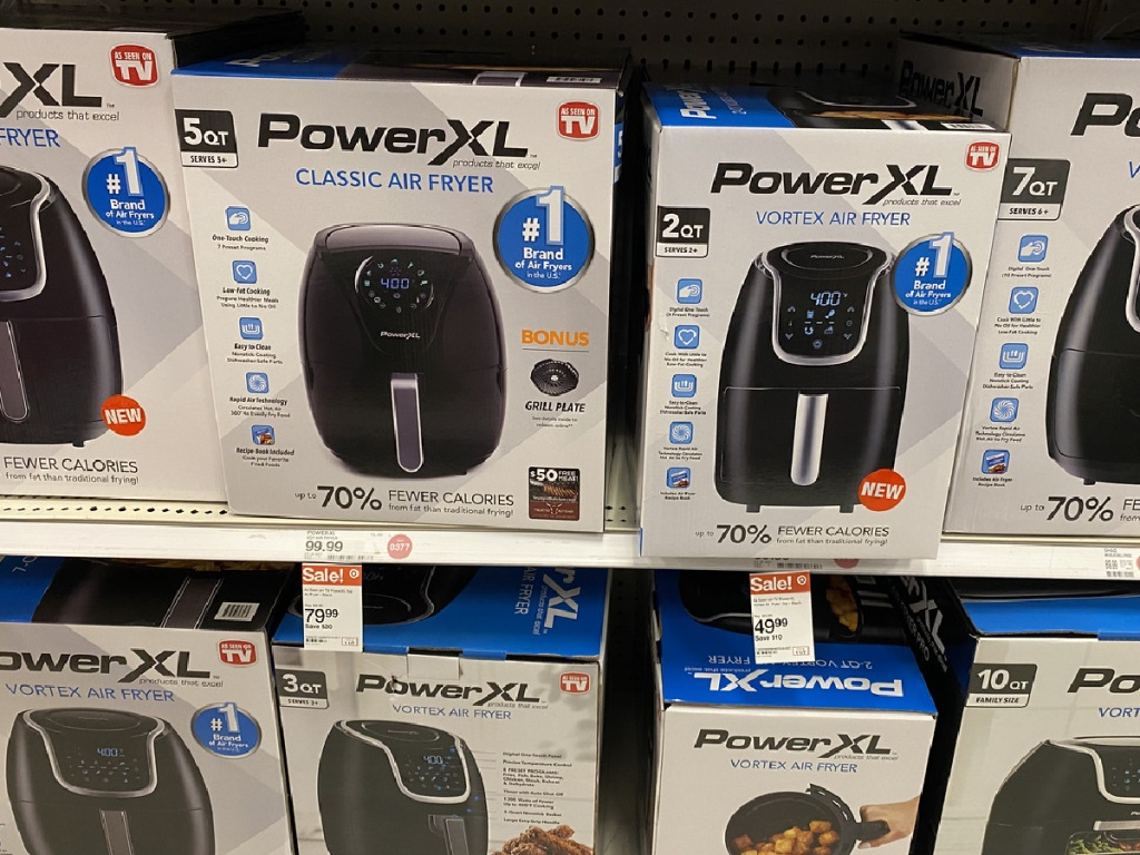 PowerXL Vortex 2 Quart or 5 quart Air Fryer