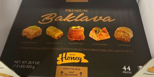 Premium Baklava 44-Count Box Just $13.94 on SamsClub.com | Perfect for Your Holiday Table