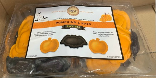 Pumpkins & Bats Ravioli at Costco | Perfect Halloween Dinner Treat for Your Kiddos