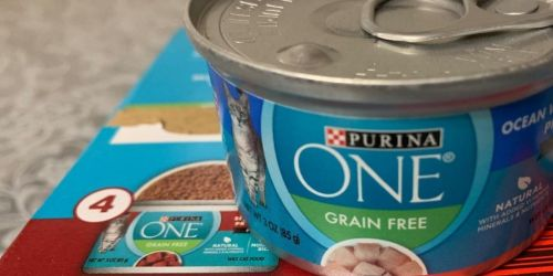 Purina ONE Grain-Free Cat Food 24-Count from $12.45 Shipped on Amazon | Just 52¢ Each