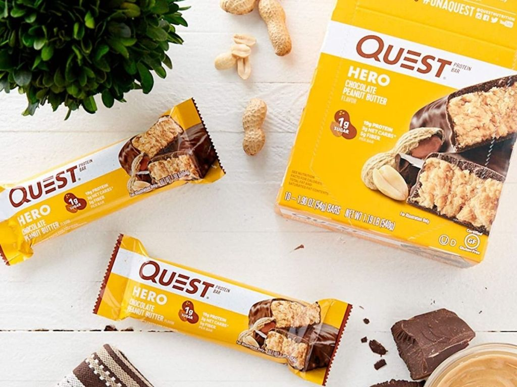 Quest Chocolate Peanut Butter Bars