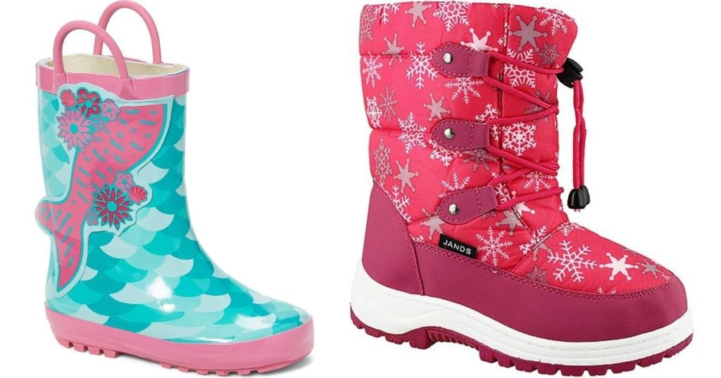 Rain and Winter Boots