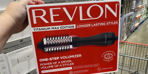 Revlon One-Step Hair Dryer & Volumizer Only $29.99 at Costco (Regularly $60) | Reader Favorite