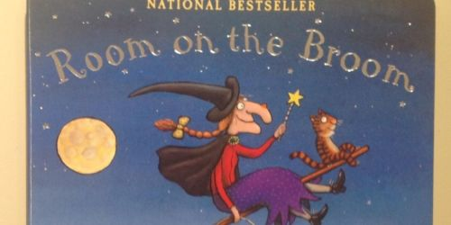 Room on the Broom Board Book Only $4 on Amazon | Bestseller on Amazon's Book Charts