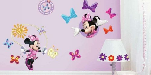 Up to 65% Off RoomMates Kids Wall Decals on Amazon   Disney, Sesame Street & More