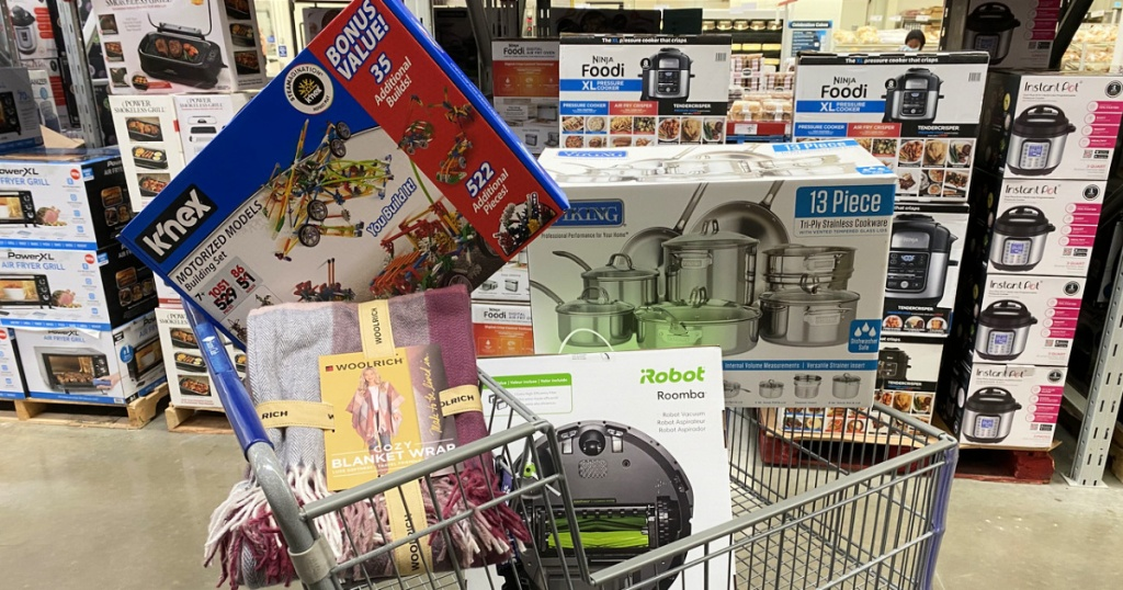 Sam's Club Black Friday shopping cart with best deals
