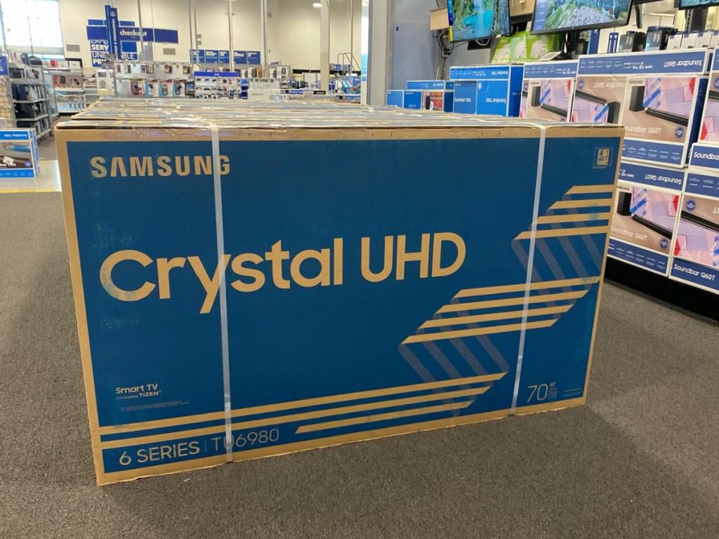 """Samsung 70"""" Class 6 Series LED 4K UHD Smart Tizen TV"""