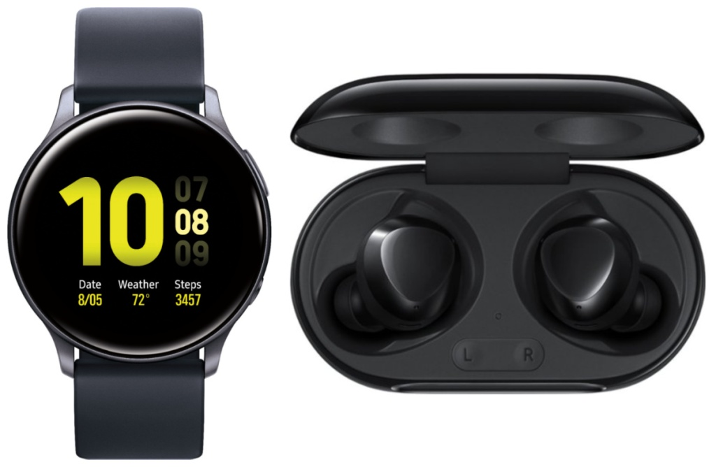 Samsung Smartwatch and Earbuds