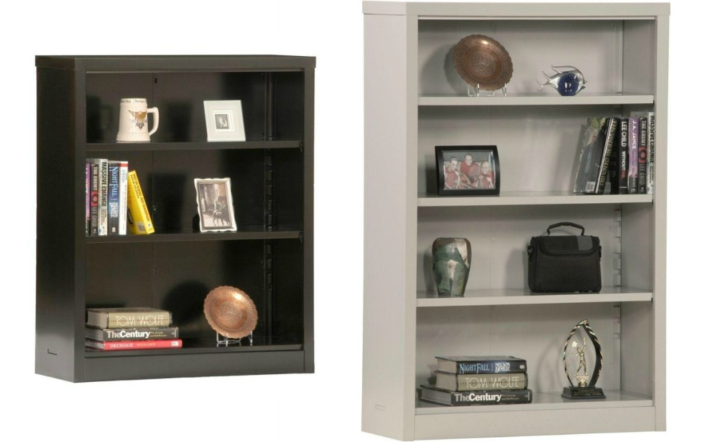 Sandusky Metal Shelves with 3 or 4 shelves