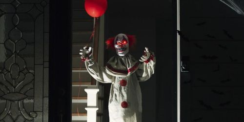 Frighten Your Neighbors w/ Scary Harry the Animatronic Clown | Just $49.99 Shipped (Regularly $80)