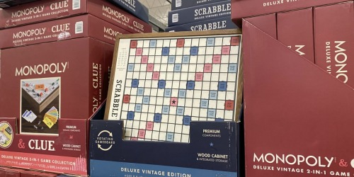 Deluxe Vintage Wooden Board Games Only $49.99 at Costco