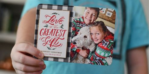 10 FREE Shutterfly Personalized Holiday Photo Cards (Just Pay Shipping)