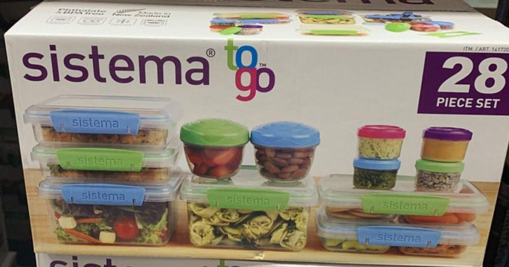 Sistema 28-piece food storage set