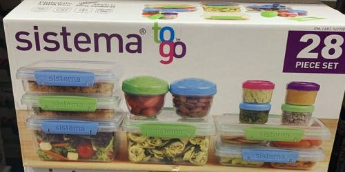 Sistema 28-Piece Food Storage Container Set Only $11.99 at Costco