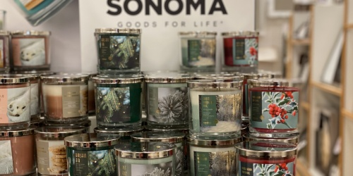 Sonoma Goods for Life Jar Candles from $5.99 (Regularly $20) + Free Shipping for Kohl's Cardholders