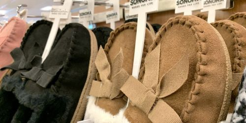 Up to 75% Off Slippers for the Whole Family on Kohls.com
