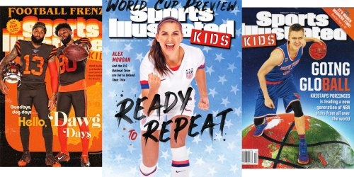 Complimentary Sports Illustrated Kids 1-Year Magazine Subscription | No Strings Attached