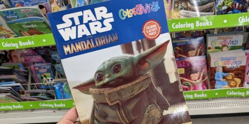 Star Wars Coloring Books Just $1 at Dollar Tree | Great Stocking Stuffer
