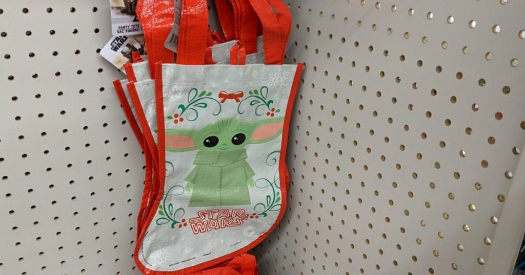 Star wars vinyl bag at Dollar tree