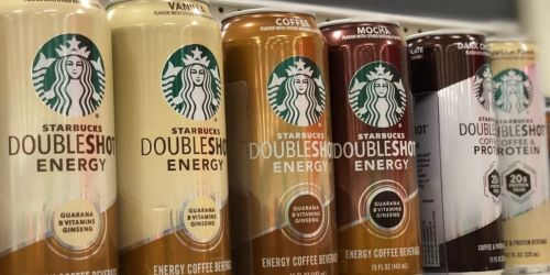 30% Off Starbucks Doubleshot Energy Drinks 12-Pack & Free Shipping for Amazon Prime Members