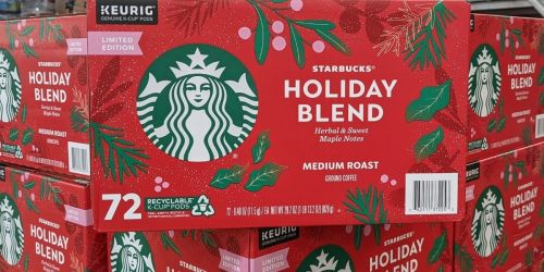 Starbucks Holiday Blend K-Cups Now at Sam's Club