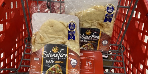 Over 50% Off Stonefire Authentic Flatbreads at Target