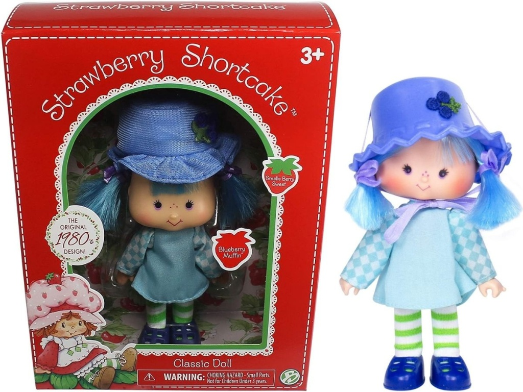 Strawberry Shortcake Classic Blueberry Muffin Doll