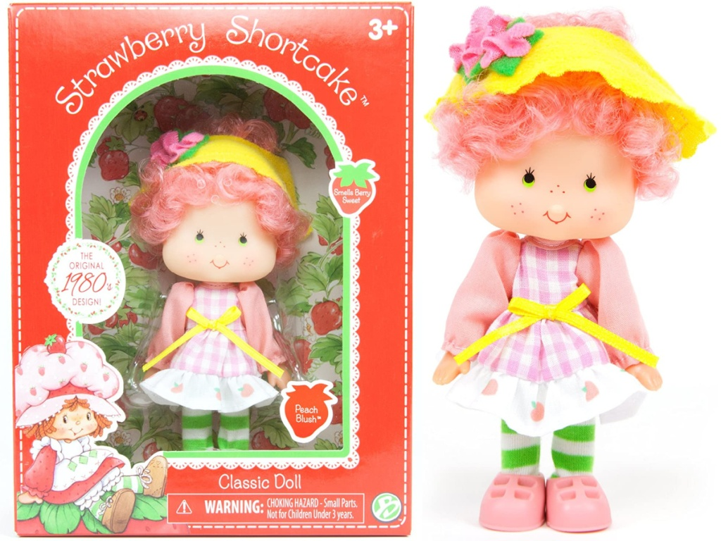 Strawberry Shortcake Peach Blush Doll