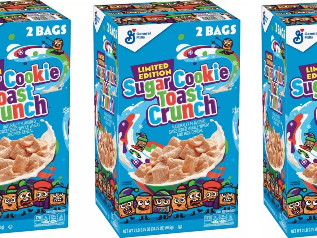 3 Boxes of Sugar Cookie Toast Crunch