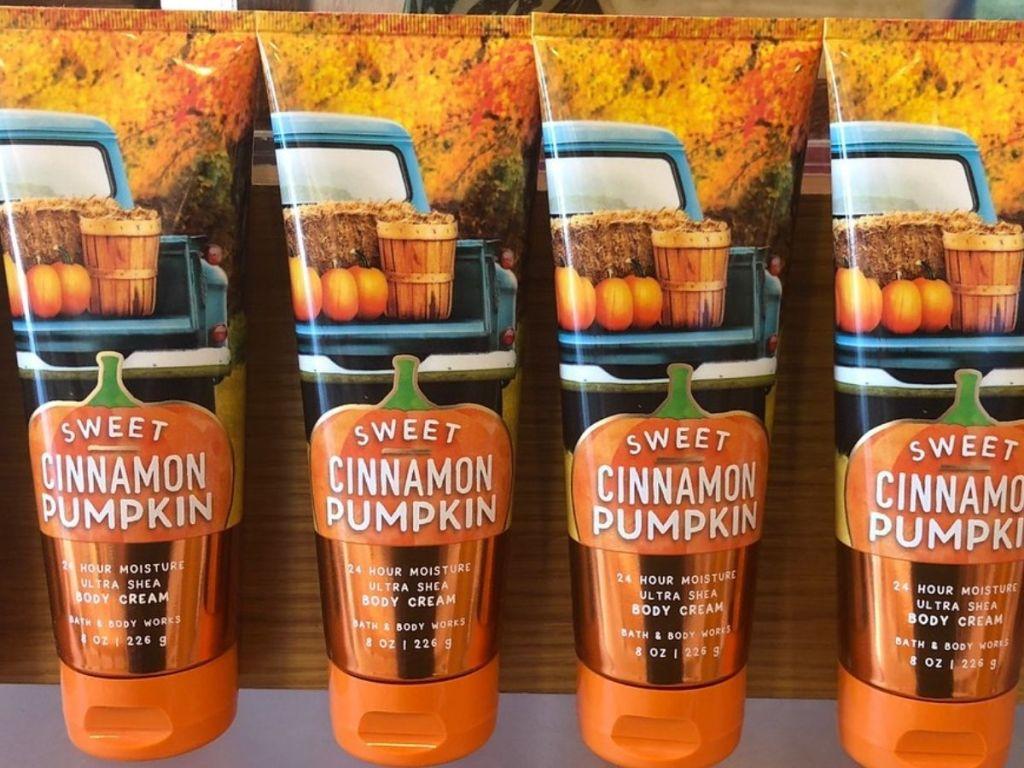 Bath & Body Works Sweet Cinnamon Pumpkin Body Cream