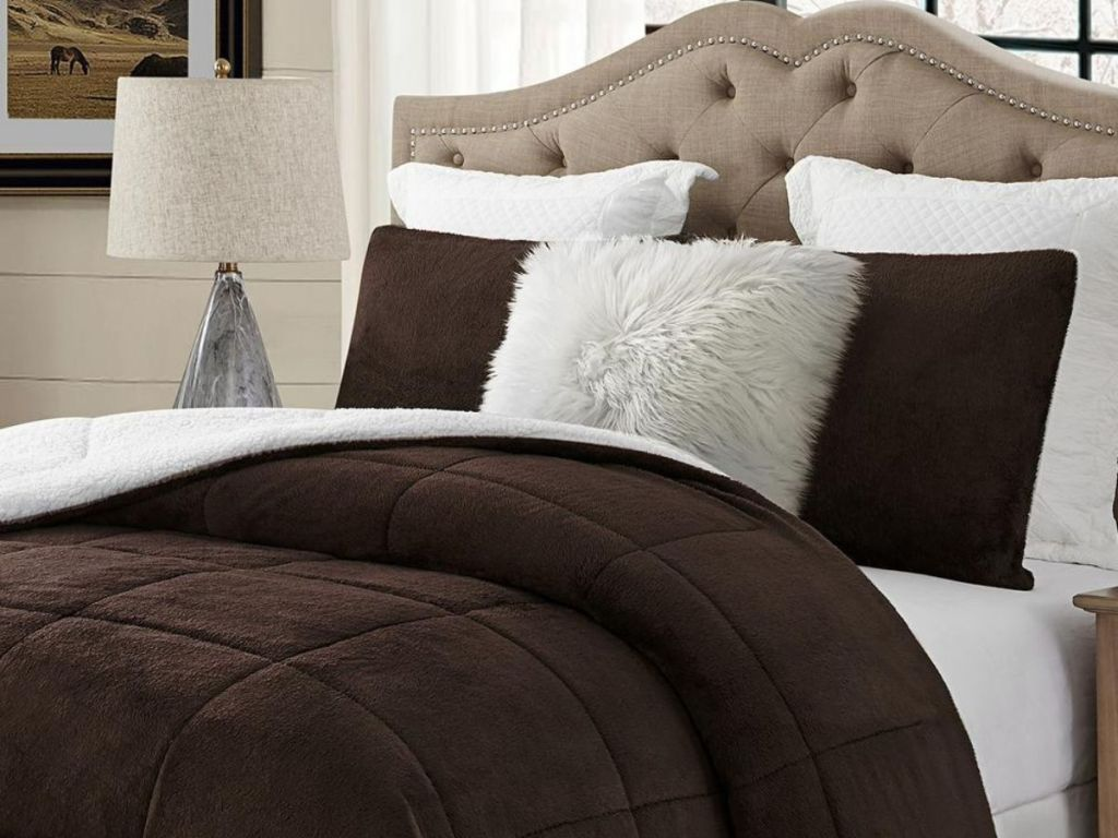 Swift Sherpa Comforter Set
