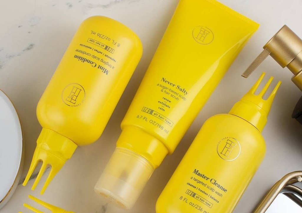 three TPH haircare products
