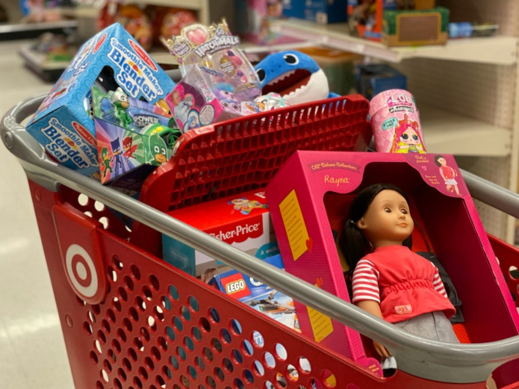mainan di gerobak target