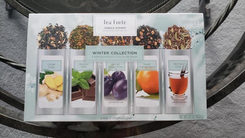 pack of Tea Forte Winter Collection Tea Sampler