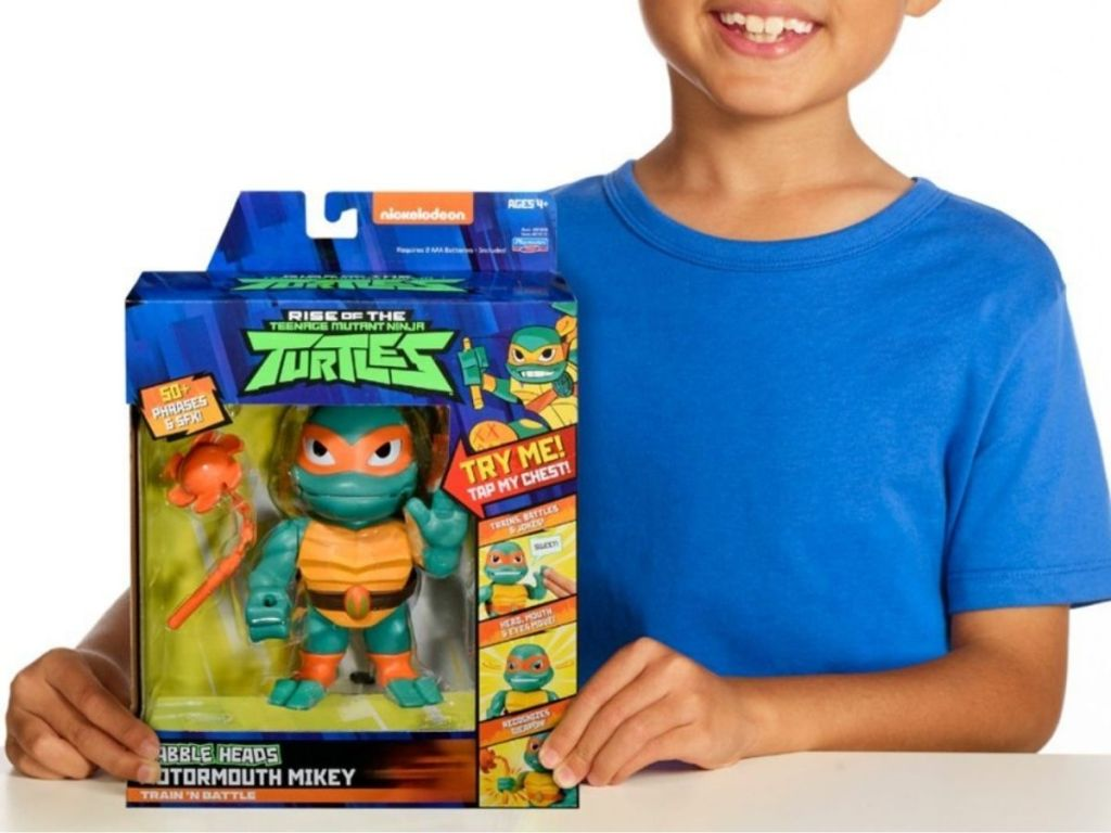 Teenage mutant ninja turtles babble head toy
