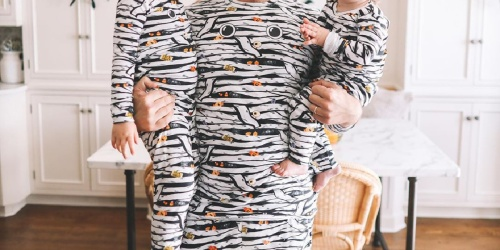 The Children's Place Glow-in-the-Dark Matching Family Halloween Pajamas from $6.99 Shipped