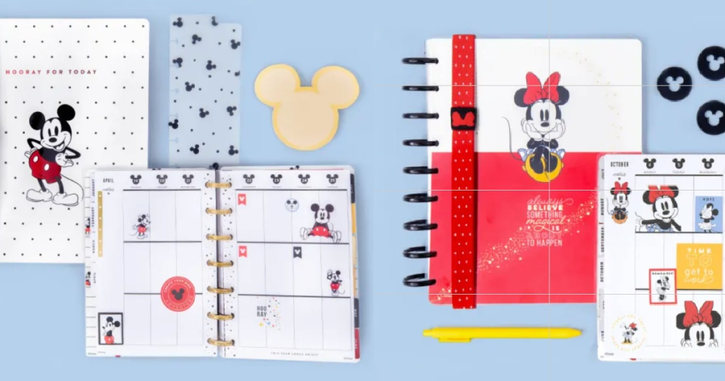 The Happy Planner Disney Mickey & Minnie Mouse Collection