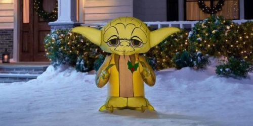 New Christmas Inflatables + Free Shipping on HomeDepot.com | Star Wars, Disney & More