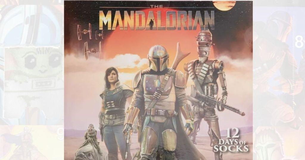 The Mandalorian 12 Days of Socks calendar