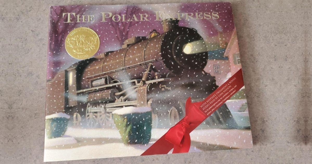 The Polar Express 30th Anniversary Edition Book