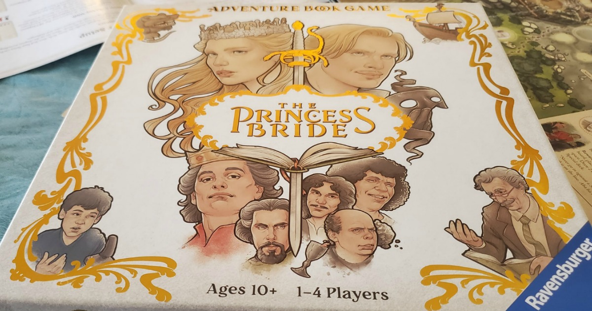 The Princess Bride Game box cover