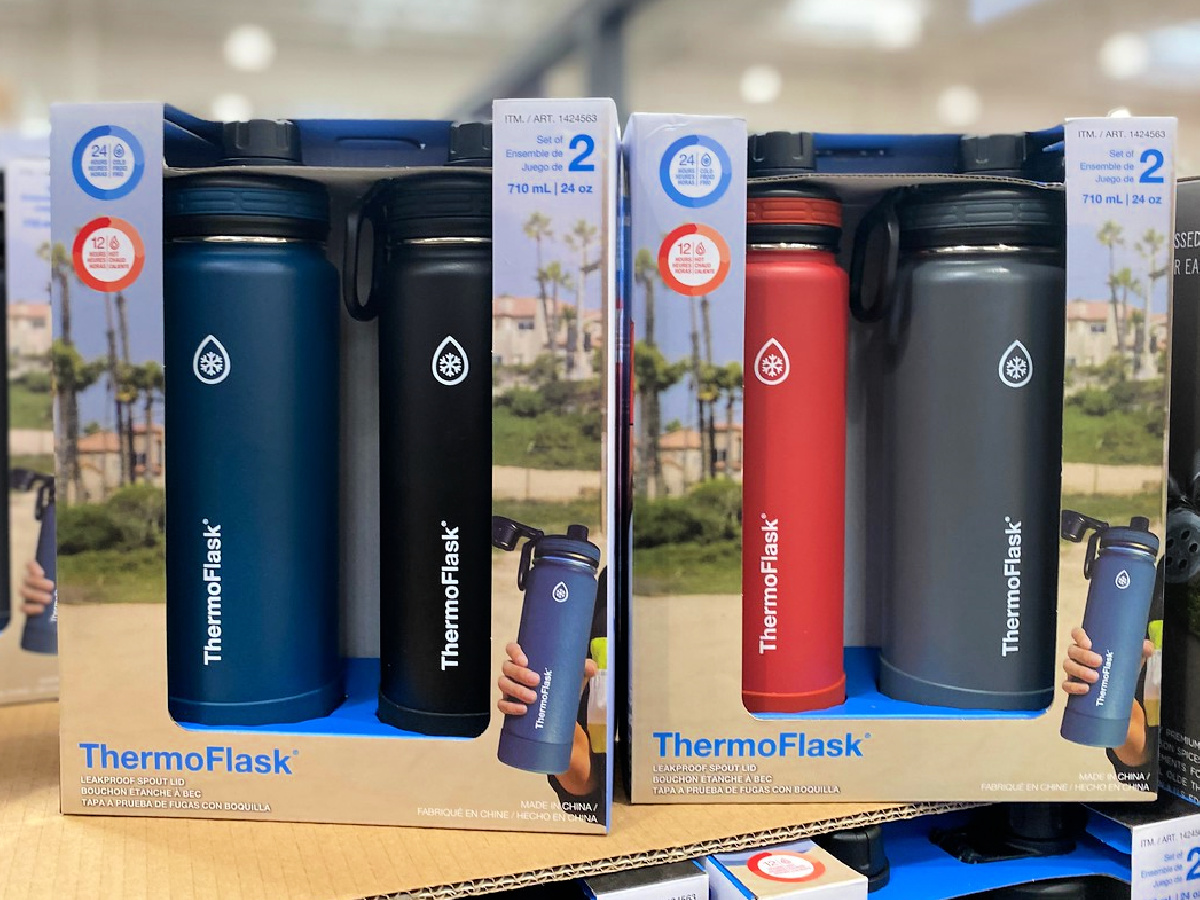 ThermoFlask 24oz Stainless Steel Insulated Water Bottles, Costco gift ideas
