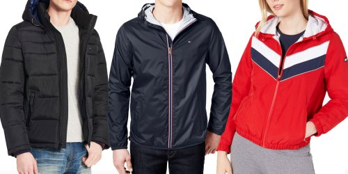 Tommy Hilfiger Men's & Women's Jackets from $39 Shipped on Macys.com (Regularly $99+)