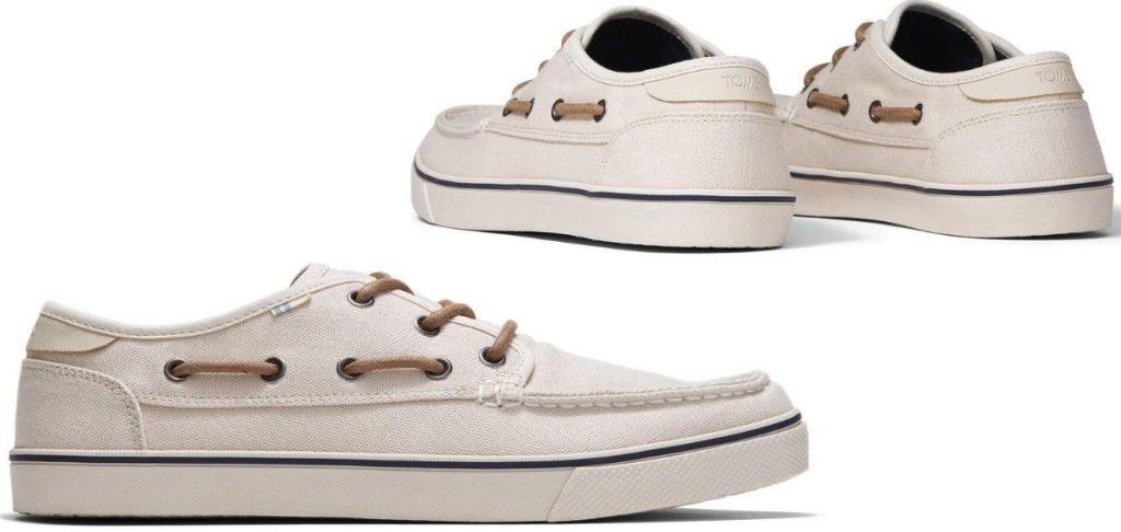 Mens TOMS boat shoes