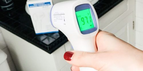 *HOT* Touchless Digital Thermometer Only $9.99 Shipped on Amazon | Instant & Accurate Readings