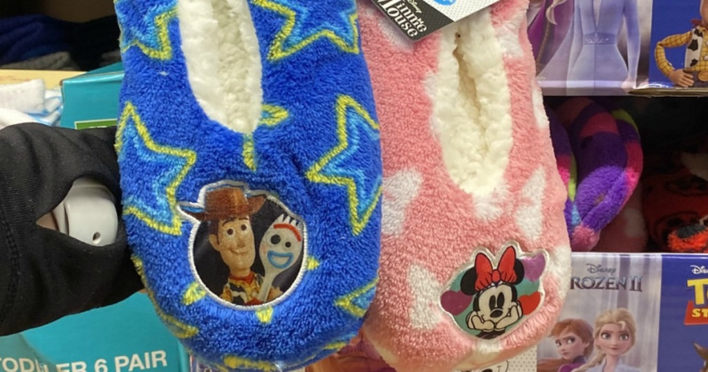 Toy Story and Minnie Slippers
