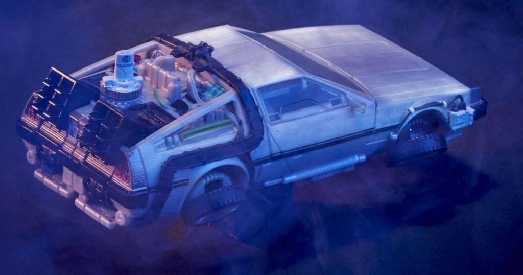 Transformers Delorean car