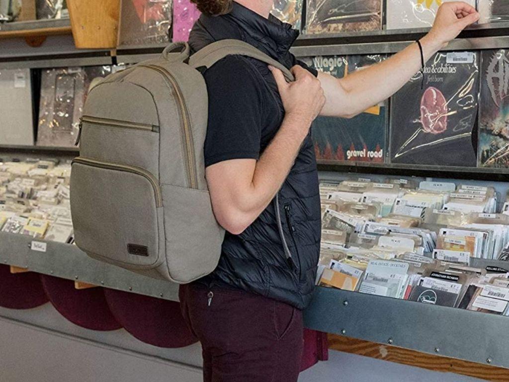 Travelon men's backpack