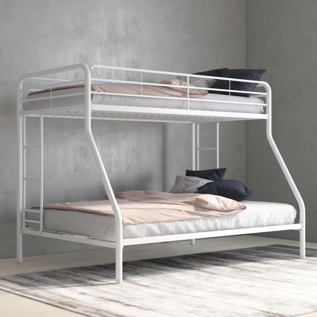 Twin over full bunk Bed in empty room