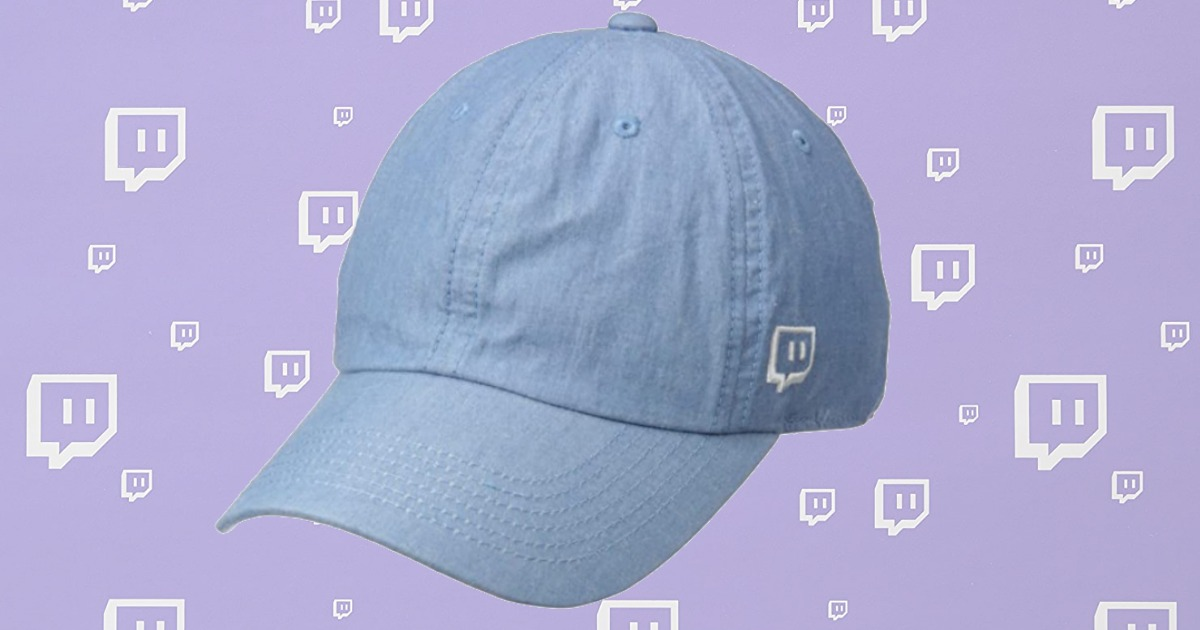 Twitch themed Denim Hat